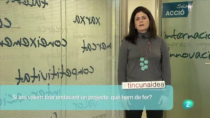 """Tinc una idea - Master-Class - Núria Betriu, """"acció"""" a tot el món"""