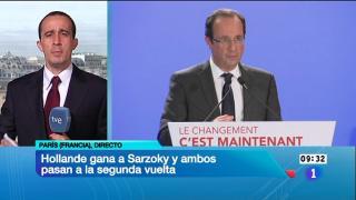 Los desayunos de TVE - Mathieu de Taillac (Le Figaro), y Tom Burridge (BBC)