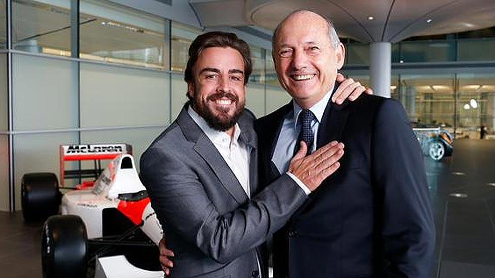 McLaren confirma el fichaje de Fernando Alonso