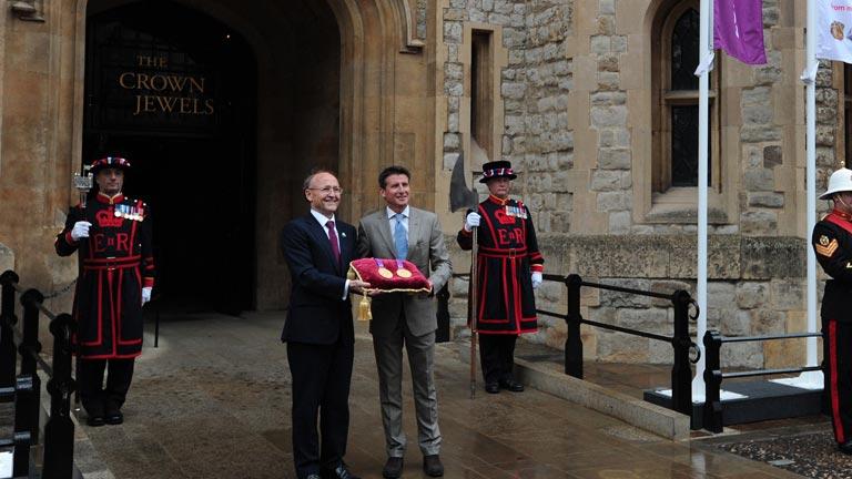 Las medallas de los Juegos, bajo llave en la Torre de Londres