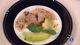 Cocina con Sergio - Medallones de cerdo al cava con melón