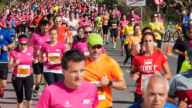 A la carrera - Media maratón popular Illa Formentera