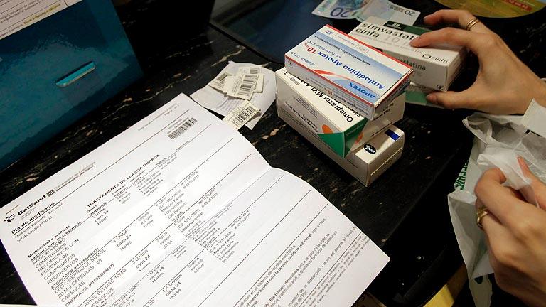 Desde hoy los medicamentos serán un euro más caros en Cataluña
