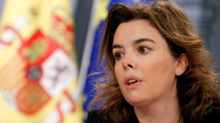 La vicepresidenta del gobierno reconoce que las medidas no son populares pero sí necesarias