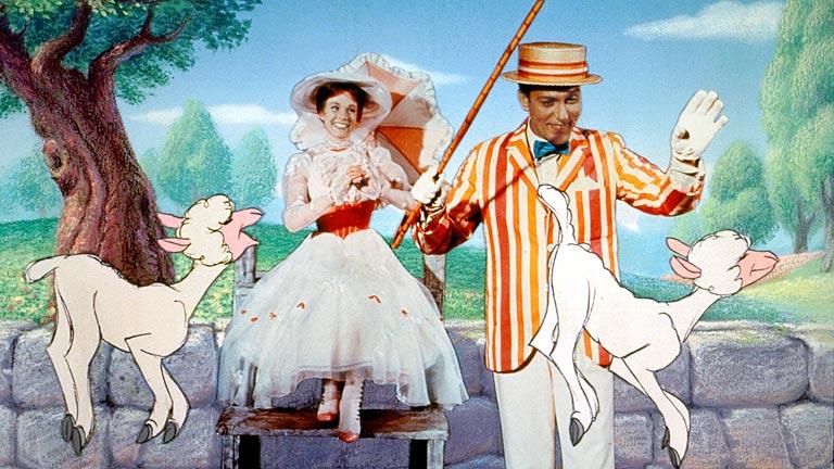 Medio siglo del estreno de Mary Poppins