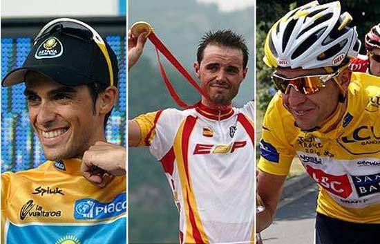 2008, el mejor año del ciclismo español