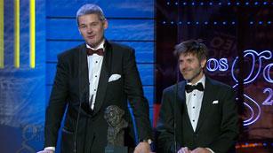 Ver vídeo  'Mejor guión adaptado - Premios Goya 2012'