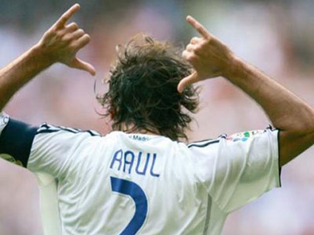 Los mejores goles de Raúl con el Real Madrid