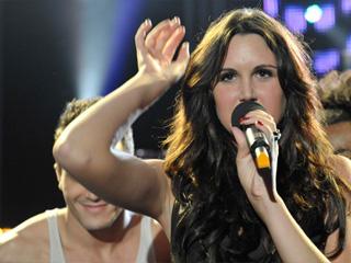 Destino Eurovisión - Semifinal: Actuación de Melissa