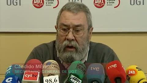 Méndez afirma que la huelga general convocada el 29M es la más justificada de la democracia