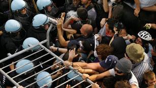 Al menos 45 detenidos y cuatro heridos en una manifestación antiOTAN en Chicago