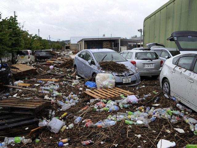 """Al menos cuatro muertos y miles de evacuados en Japón por el tifón """"Roke"""""""