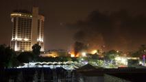 Ir al VideoAl menos diez muertos en dos atentados en Bagdad