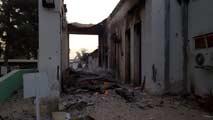 Ir al VideoAl menos nueve muertos en un bombardeo en un hospital de Médicos sin Fronteras en Afganistán