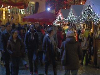 Bruselas se sumerge totalmente en el espíritu navideño