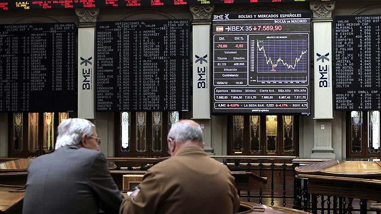 Los mercados europeos sufren fuertes pérdidas y la deuda española vuelve al entorno del 6%