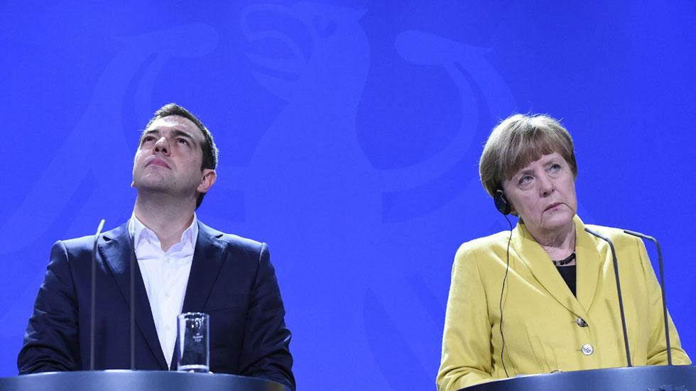 Merkel y Tsipras constatan su voluntad de acuerdo pese a las diferencias sobre las reformas pendientes