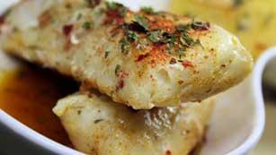Más Gente - Más Cocina - Merluza asada con calamar salteado