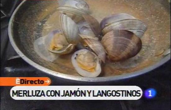 España Directo - Merluza con jamón y langostinos