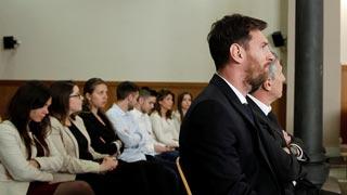 Messi alega que confiaba en la gestión de padre
