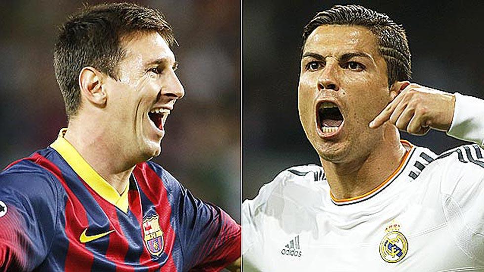 Messi y Cristiano continúan su pelea goleadora