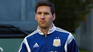 Messi, extremo de Argentina