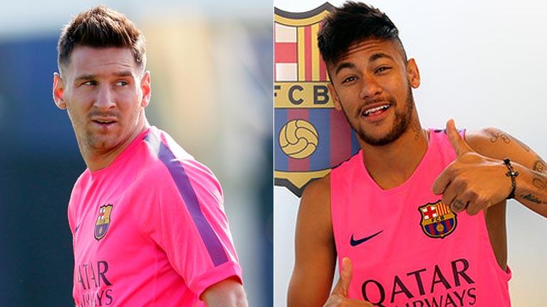 Messi y Neymar ya están a las órdenes de Luis Enrique