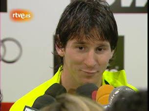 Messi y los trabajos del Barça