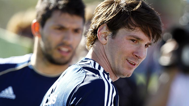 Messi, triste por la marcha de Guardiola