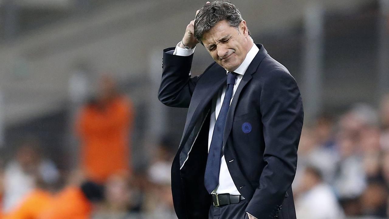 Míchel, entrenador del Marsella