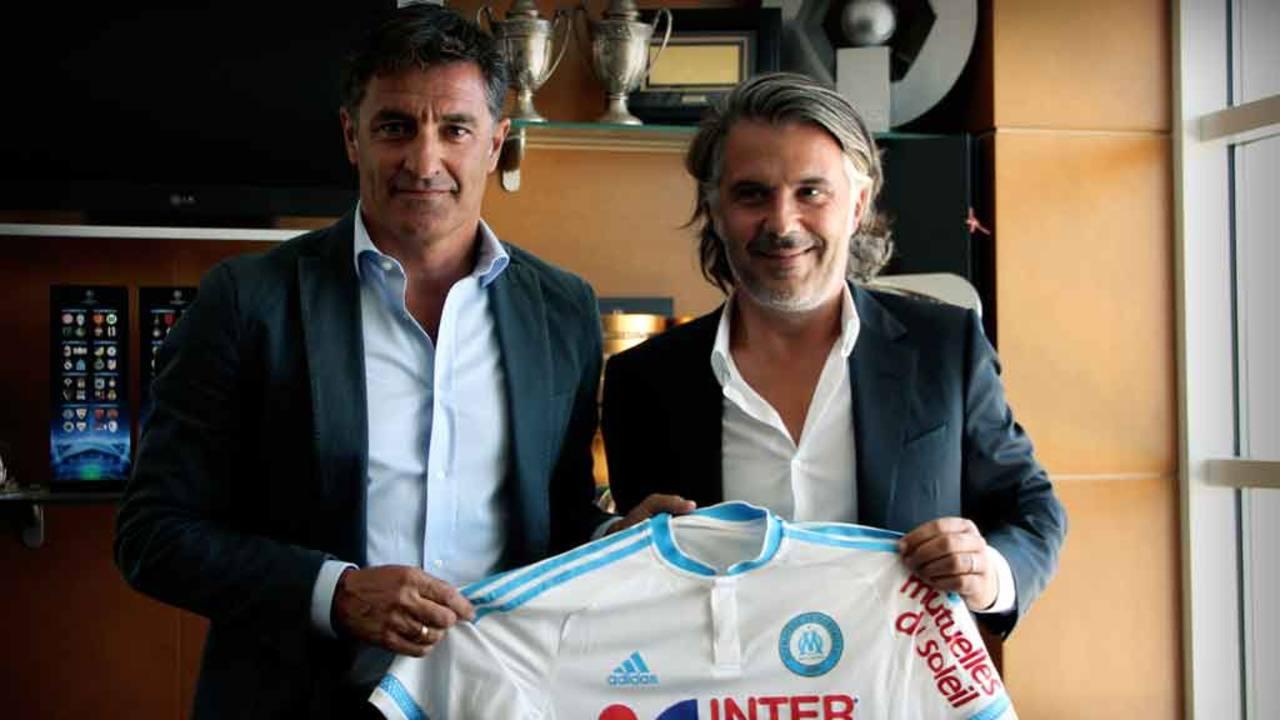 Michel es presentado como nuevo entrenador del Marsella