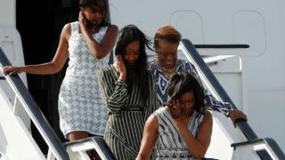 Michelle Obama llega a España donde se reunirá con la reina por su causa solidaria