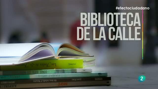 Efecto ciudadano - Microacción - Biblioteca en la calle
