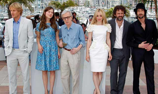 Woody Allen inaugura el festival de Cannes 2011 con 'Midnight in Paris'