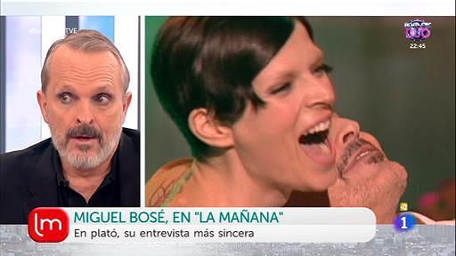 Miguel Bosé recuerda a Bimba