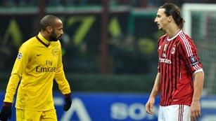 El Milan destroza al Arsenal y el Zenit gana por la mínima al Benfica