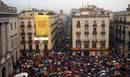 Fotogaleria: Concentraciones en Cataluña contra la suspensión de la consulta