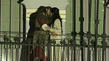 Miles de personas disfrutan de la representación por las calles de Teruel de 'Los amantes de Teruel'