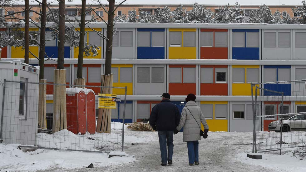 Miles de refugiados llegaron a Berlín en 2014