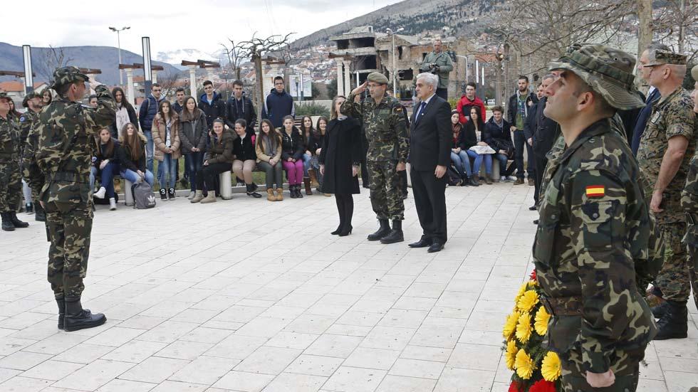 Los militares españoles finalizan su misión en Bosnia 23 años después