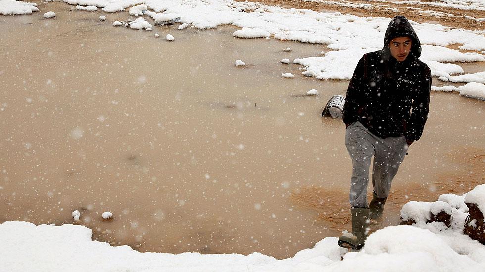Un millón de desplazados sufren por el frío en el norte de Irak