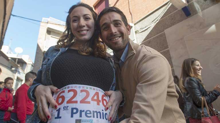 60 millones del Gordo viajan hasta Bailén, Jaén