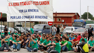 Los mineros inician este viernes su marcha hacia Madrid