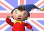 Imagen de un episodio de Noddy en inglés