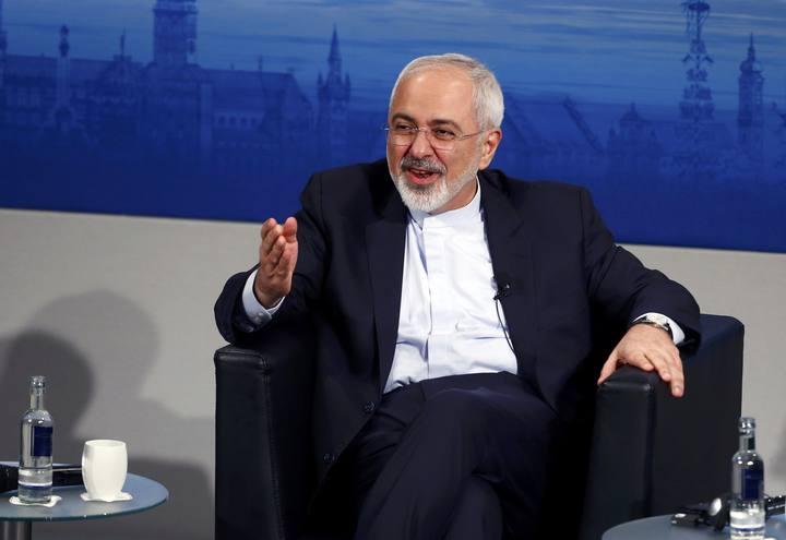 El ministro de Asuntos Exteriores iraní, Mohammad Yavad Zarif, en la Conferencia de Seguridad de Múnich (MSC).
