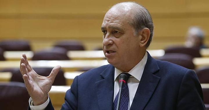 El ministro del Interior, Jorge Fernández Díaz, durante una intervención
