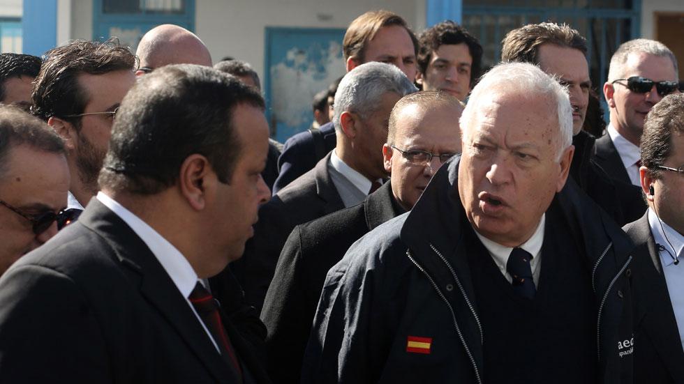 Primera visita de una autoridad española a la franja de Gaza en diez años