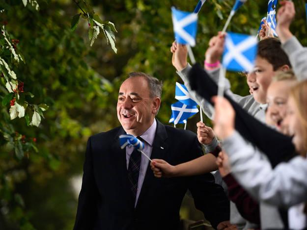 El ministro principal de Escocia, Alex Salmond