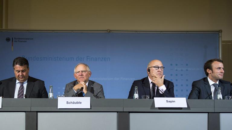 Los ministros de Economía y Finanzas de Alemania y Francia quieren incrementar la inversión