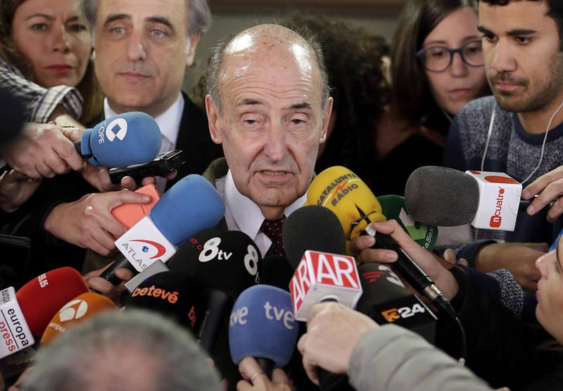Miquel Roca, abogado de la infanta Crístina expresa su satisfacción